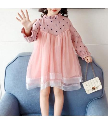 Long Sleeve Princess Dress for Girls